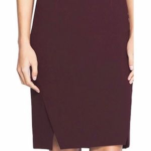 White House Black Market Black Cherry Pencil skirt